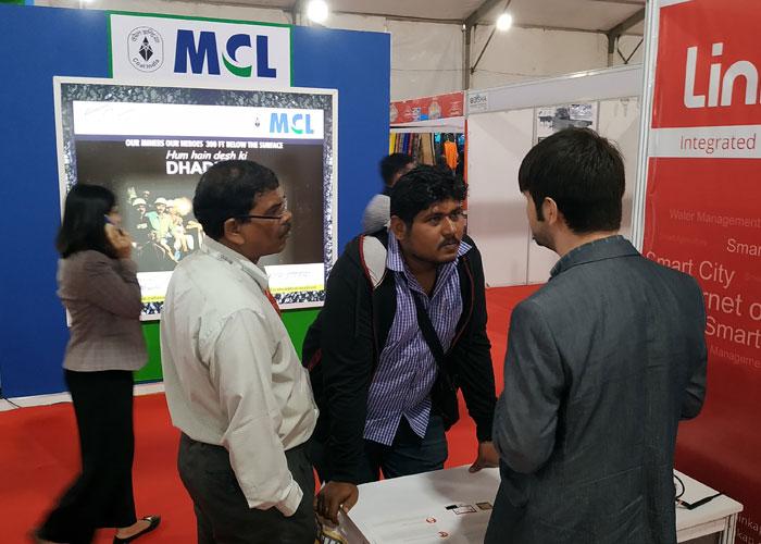 لینکپ در نمایشگاه MSME Trade Fair 2020 اودیشای هند